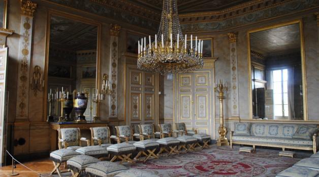 Salon des dames d'honneur, Château de Compiègne