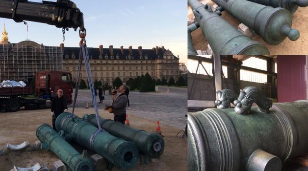 Pièces d'artillerie du Musée de l'armée