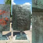 Sculpture de César, Square Tino Rossi (Paris)