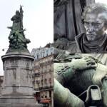 Statue du Maréchal Moncey, Place de Clichy (Paris)