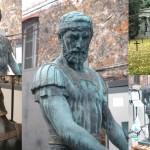 Sculptures en bronze du cimetière militaire allemand de Saint Quentin (Aisne)