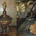 Cuve baptismale, Eglise Saint Vincent de Paul (Paris)