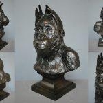 Jack orang outan, par Jean-Pierre Dantan, Muséum National d'Histoire Naturelle