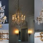 Luminaires de l'appartement de Mesdames, Château de Versailles