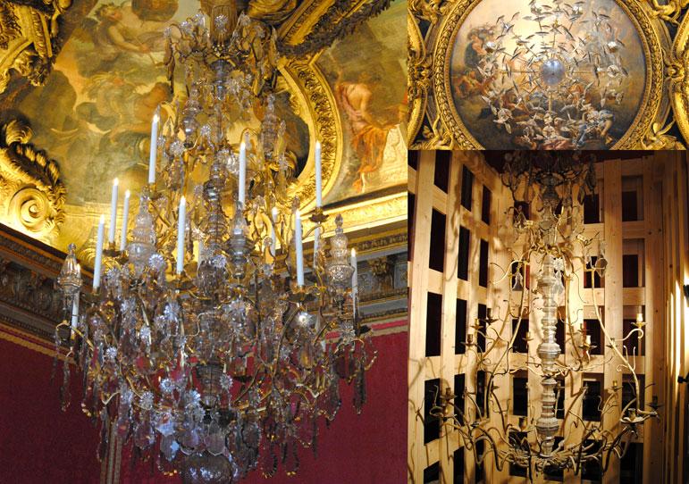 Luminaires etablissement de chant viron for Salon d apollon