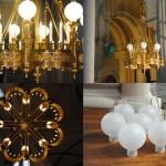 Lustres de l'Eglise Notre Dame de la Croix (Paris)