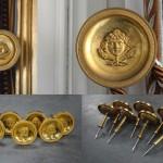 Patères du Salon de « Famille de l'Empereur », Grand Trianon de Versailles