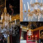 Luminaires du Salon de Mercure, Château de Versailles