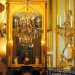 Luminaires du Salon des jeux de louis XVI, Château de Versailles