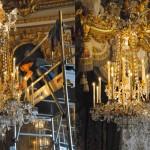 Luminaires de la chambre à coucher de la Reine, Château de Versailles