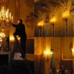 Luminaires du Théâtre impérial du Château de Fontainebleau