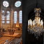 Lustre de la chapelle de la Vierge, Eglise Notre Dame de la Croix (Paris)