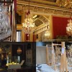 Luminaires de l'Antichambre du grand couvert de la Reine, Château de Versailles