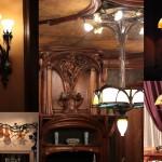 Luminaires Art Nouveau, Musée de l'Ecole de Nancy