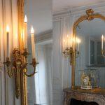 Bras de lumières de la Pièce des bains, Château de Versailles