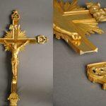 Croix de procession, église Saint Sulpice de Paris