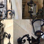 Lanternes d'extérieur, demeure particulière