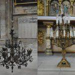 Luminaires, Cathédrale Saint-Gervais-et-Saint-Protais de Soissons