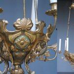 Luminaires de l'église de Montolivet