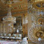 Luminaires du Salon des dames d'honneur, Palais Impérial de Compiègne