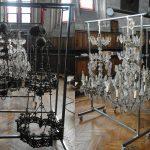 Lustres à cristaux, Cathédrale Notre Dame d'Amiens