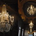 Lustres du foyer du théâtre municipal de Cherbourg