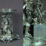 Coupe en argent massif, Musée Pasteur (Paris)