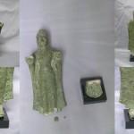Bodhisattva en bronze, Asie du sud est, collection privée