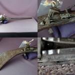 Fusil Sarde XVIIe siècle, collection privée