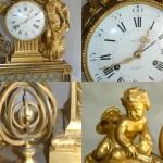 Pendule du Salon de Compagnie, Petit Trianon de Versailles